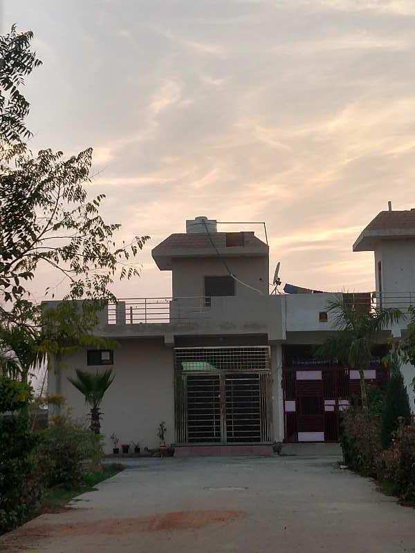 Ready to move villa cowered parking k sath