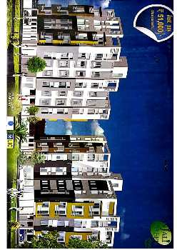 3 bhk flat at new town ready to move