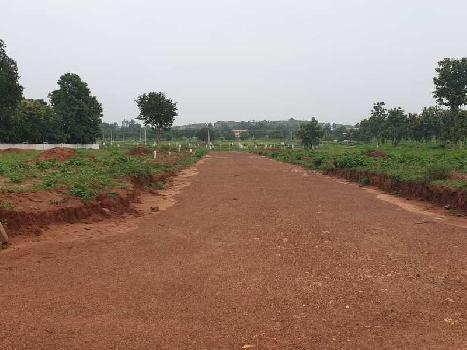 VUDA Plots at NH-43 near Raghu college