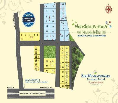 VUDA Plots near NH-16 at Anandapuram