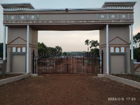 167 Sq. Yards Residential Plot for Sale in Vuda Colony, Vizianagaram