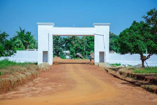 Alluris nandanavanam residential VUDA Approved plot for sale at dakamarri