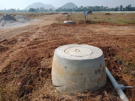 nandanavanam 48 Acres mega gated residential VUDA Approved plots for sale at duvvada