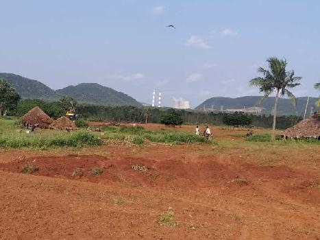60 Acres mega gated residential VUDA Approved plot for sale at atchuthapuram with low budget