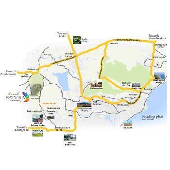 48 ACRES MEGA GATED COMMUNITY LAYOUT PER SALE AT DUVVADA RAILWAY STATION ROAD