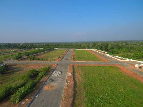 EXCELLENT VUDA APPROVED PROJECT FOR SALE AT TAGARAPUVALASA WITH HIGHWAY FACING
