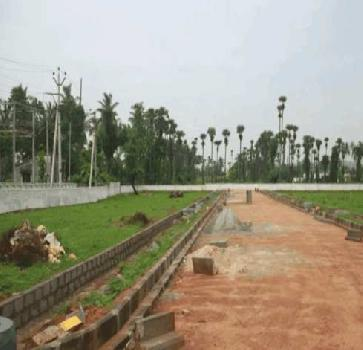 RESIDENTIAL AND COMMERCIAL VUDA APPROVED OPEN PLOTS FOR SALE AT ANADAPURAM WITH HIGHWAY FACING WITH LP NUMBER