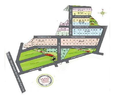 low budget for property  getting big investment  open plots for sale at tagarapuvalasa near revidi village