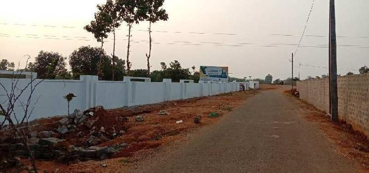 RESIDENTIAL  VUDA APPROVED OPEN  PLOTS  FOR SALE AT DAKAMARRI WITH HIGH WAY FACING AND  SURROUNDING RESIDENTIAL ZONE
