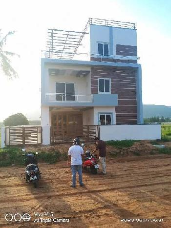 RESIDENTIAL VUDA APPROVED OPEN PLOTS FOR SALE AT DUVVADA