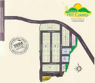 RESIDENTIAL VUDA APPROVED OPEN PLOTS FOR SALE AT PARAVADA
