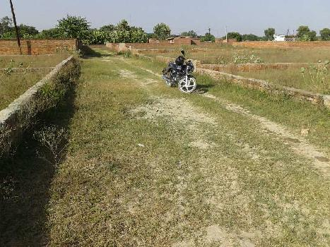 A residential plot available in jhusi near roadways workshop