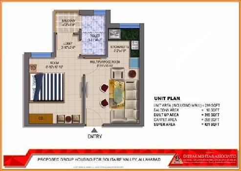A Beautiful 1bhk apartment in jhalwa in very affordable price