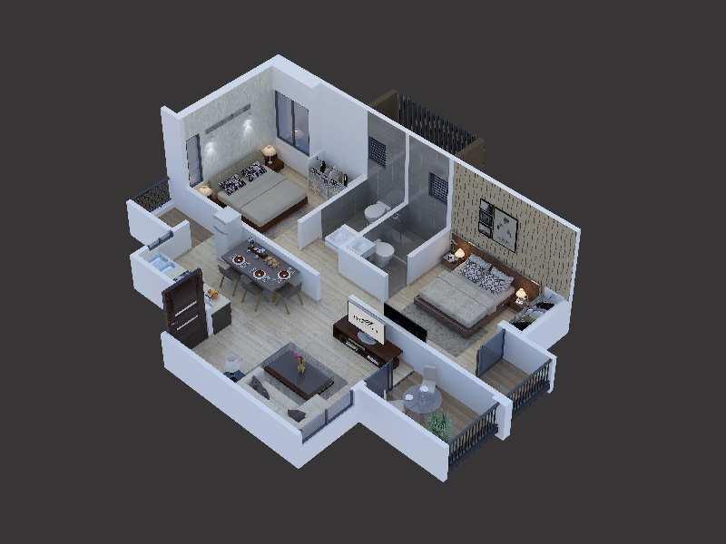 1BHK property ready to move Undri