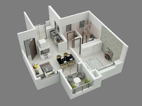 1 BHK Flat For Sale In Ambegaon Budruk, Pune