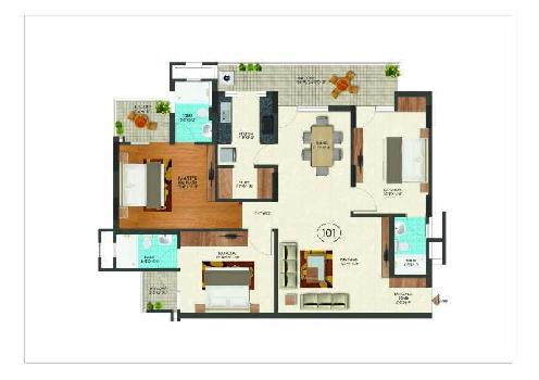 3 Bhk Flat For Sale In Jaipur