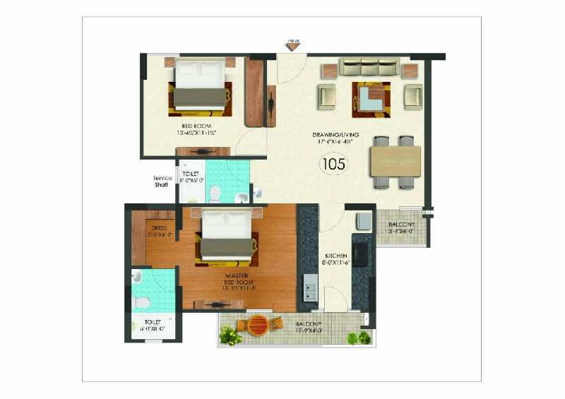 2 bhk Flats for sale at Sikar Road