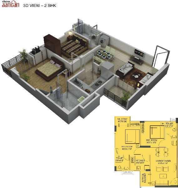 2 BHK Apartment for sale in Jaipur
