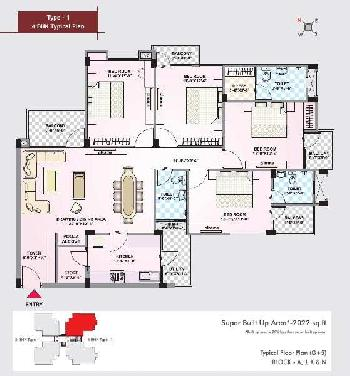 ARG city affordable 2/3/4 BHK Ready to move apartment for sell Ajmer
