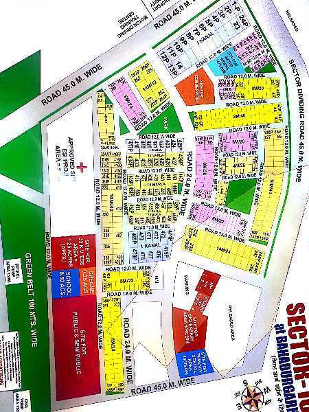 Residential Plot for Sale in Sector 10, Bahadurgarh