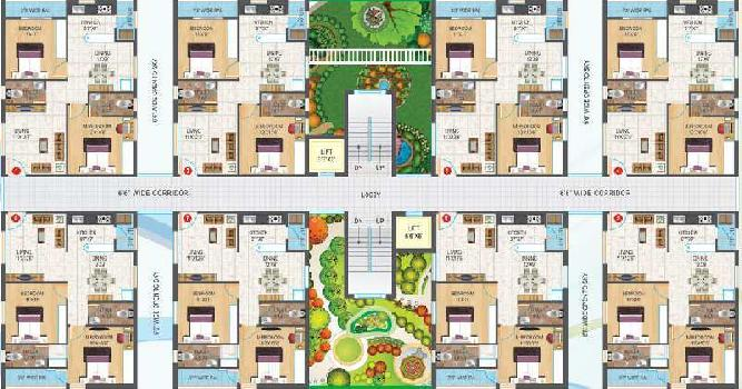 Gated Community Flats sale in Vijayawada airport Gannavaram