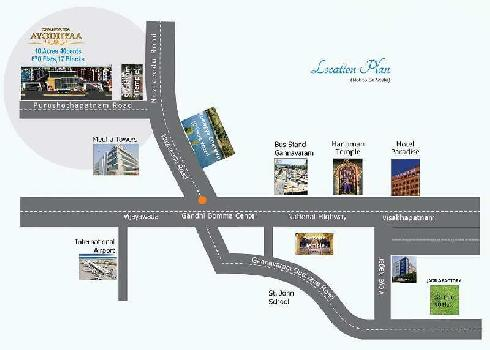 48 lac 3BHK Luxury Flat sale in Vijayawada Airport Gannavaram