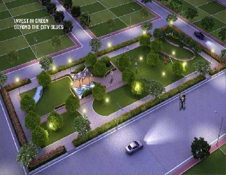 Developed plot for sale in kumhari