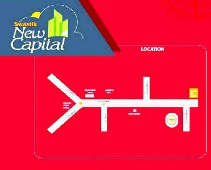 Developed plot for sale in international stedium
