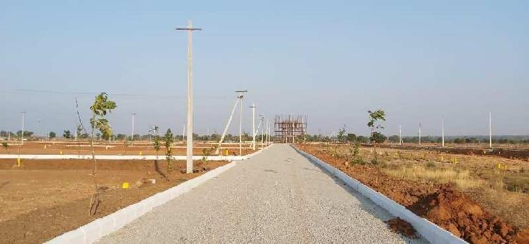 Open plots in sangareddy