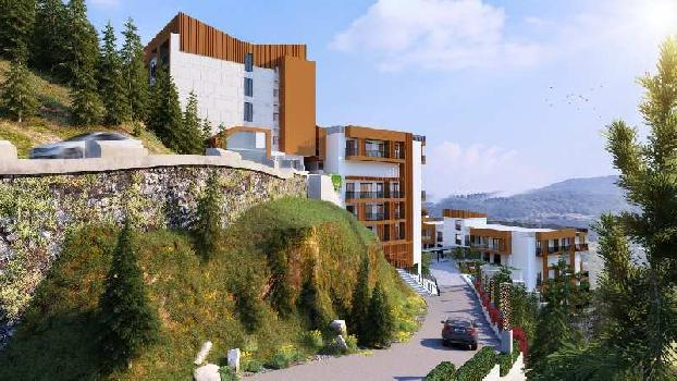 710 Sq.ft. Studio Apartments for Sale in Jutogh, Shimla