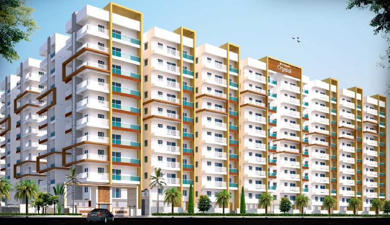 2 BHK Flats & Apartments for Sale in Bahadurpally, Hyderabad