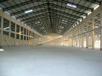 Industrial Shed with RCC Building for lease at Ambernath MIDC.