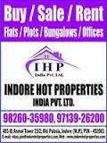 1 BHK Flats & Apartments for Sale in Kanadia Road, Indore
