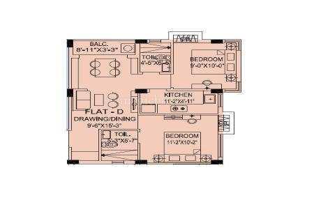 3 BHK Flats & Apartments for Sale in Selimpur, Kolkata