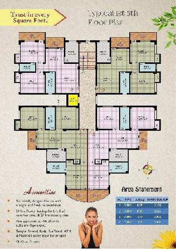 3 BHK Apartment for Sale in Dhanbad, Jharkhand