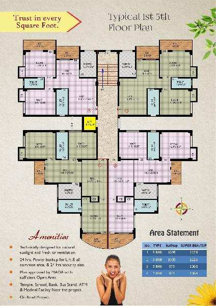 Residential Flat for Sale in Prime Location