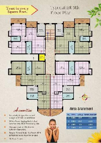 3 BHK Flat For Sale In Saraidhela, Dhanbad