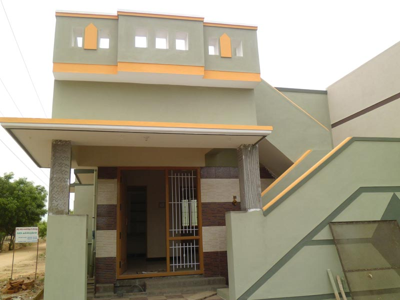 1 bhk individual house home for sale at erode for Tamilnadu style home design