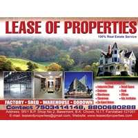 3500 sq ft RCC factory for lease in faridabad