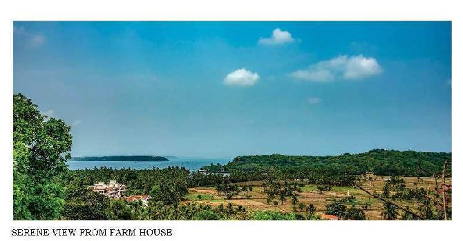 SEA VIEW 5 BR FARM HOUSE IN NORTH GOA ,PILERNE @ 18 CRS- UNDER CONSTRUCTION