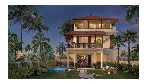Portuguese Style 3 BR Independent Villas In North Goa ,Pilerne @ 3.60  Crs onwards -UNDER CONSTRUCTION