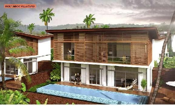 Ready To Move 3 BR  Independent Villa In North Goa, Nerul@  4.75 Crs - SEMI FURNISHED