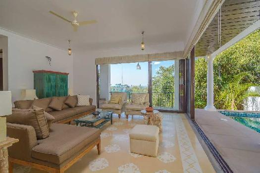 Ready To Move 3 BR  Independent Villa In North Goa, Nerul Road @  45.50  Crs - SEMI FURNISHED , On Saipem Hills