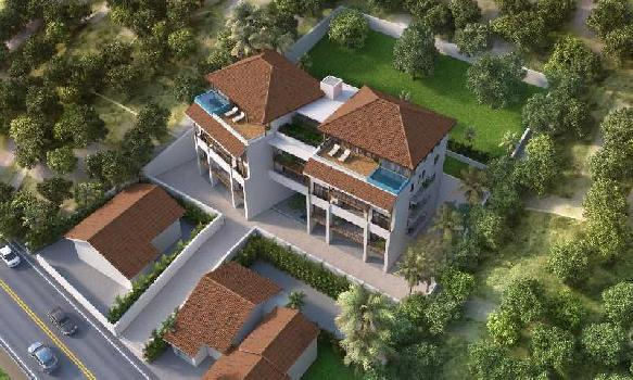 Under Construction 3 BR pent House In North Goa, Saipem Hills @ 1.4 Crs Onwards- Pilerne To Candolim Road
