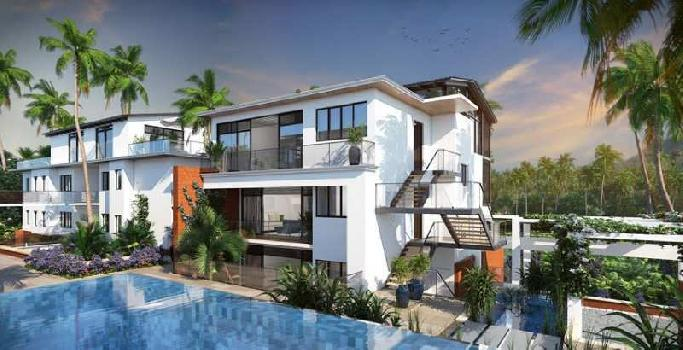 Semi Furnished 2 BR Luxury Flats In REIS MAGOS NORTH GOA @ 1.24 Crs Onwards- UNDER CONSTRUCTION