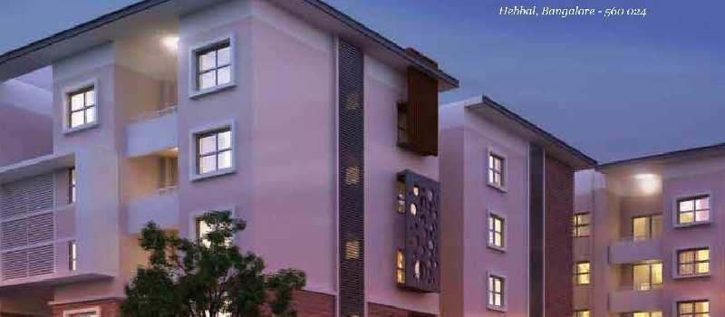 Premium Luxury 2 BR Apartments HEBBAL  Just 800 mtrs From NH-7@ 90 Lacs -NEARING POSSESSION