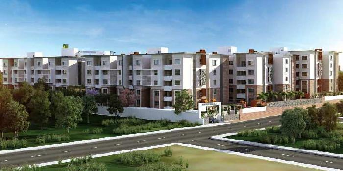 Premium Luxury 3 BR Apartments HEBBAL  Just 800 mtrs From NH-7@ 90 Lacs -NEARING POSSESSION