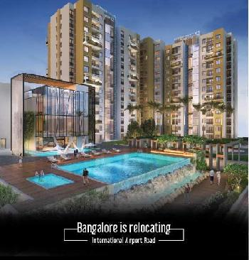 NEWLY LAUNCHED- 2 BHK Smart Spacious  Luxury Apartments In Yelahanka, North Bangalore -LUXURIOUS TOWNSHIP- CLOSE  TO LAKE