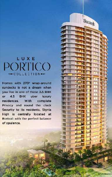 3 BHK Flats & Apartments for Sale in Borivali East, Mumbai