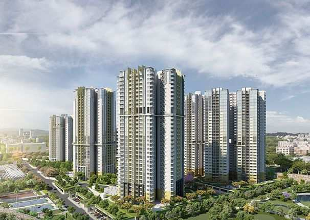 3 BHK Flats & Apartments for Sale in Binnypet, Bangalore